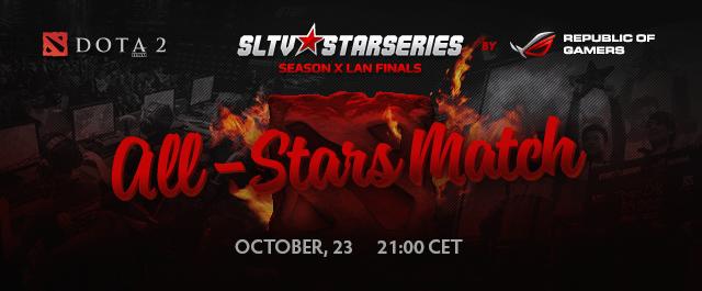 Матч всех звёзд десятого сезона SLTV Star Series