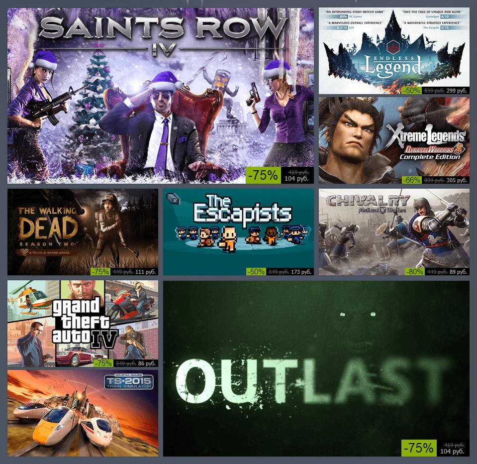 Зимняя распродажа Steam 2014: день пятый