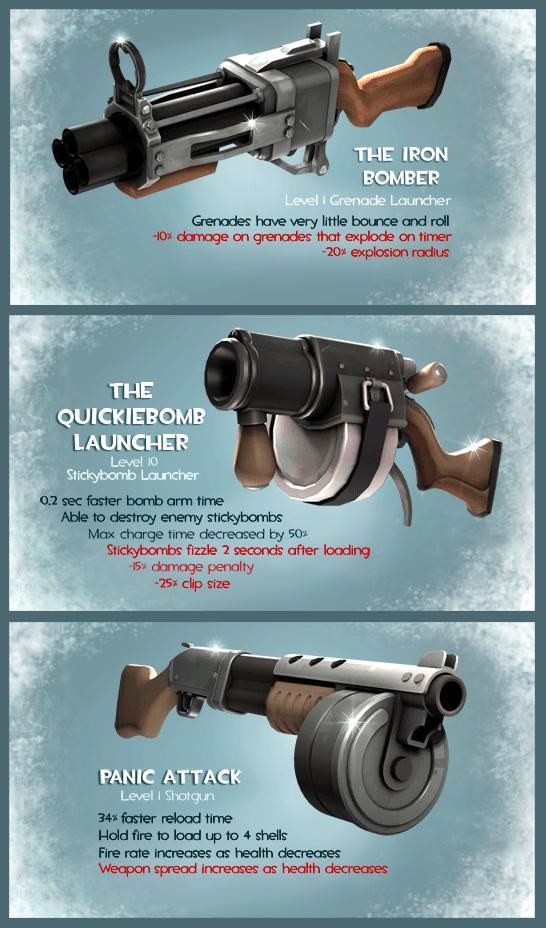 Новое оружие из обновления «Счастливого Шмождества!»