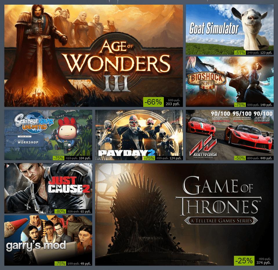 Зимняя распродажа Steam 2014: день шестой