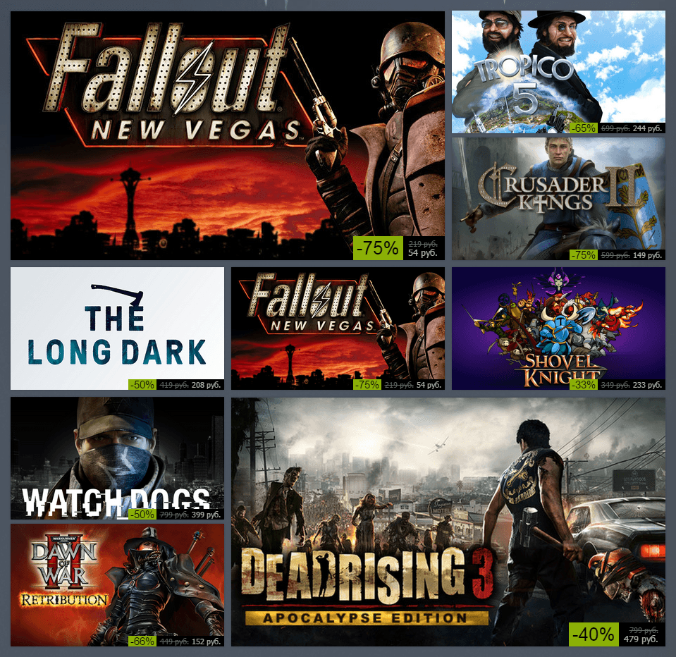 Зимняя распродажа Steam 2014: день десятый