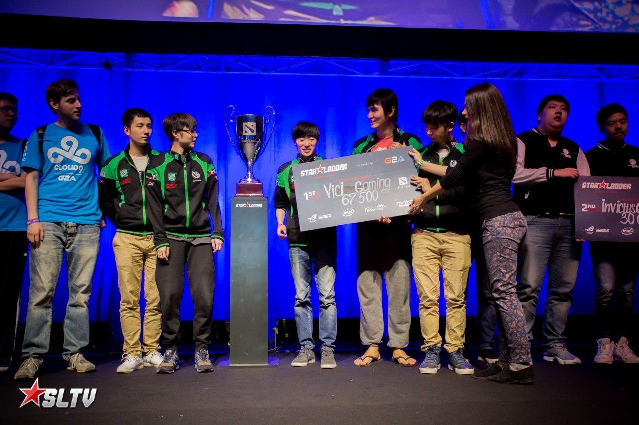 Vici Gaming — победители двенадцатого сезона SLTV Star Series
