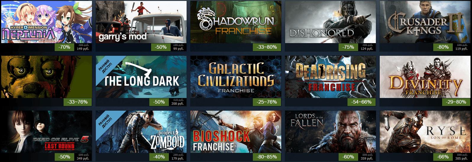 Летняя распродажа Steam 2015: день пятый