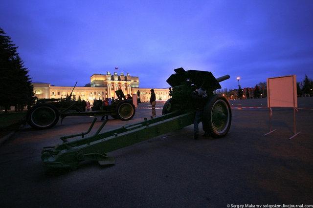 Военная техника на Параде Памяти