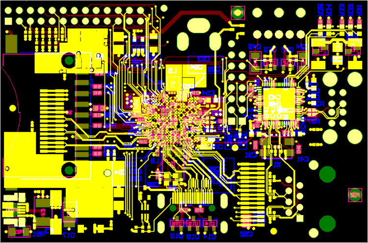 Печатная плата Raspberry Pi