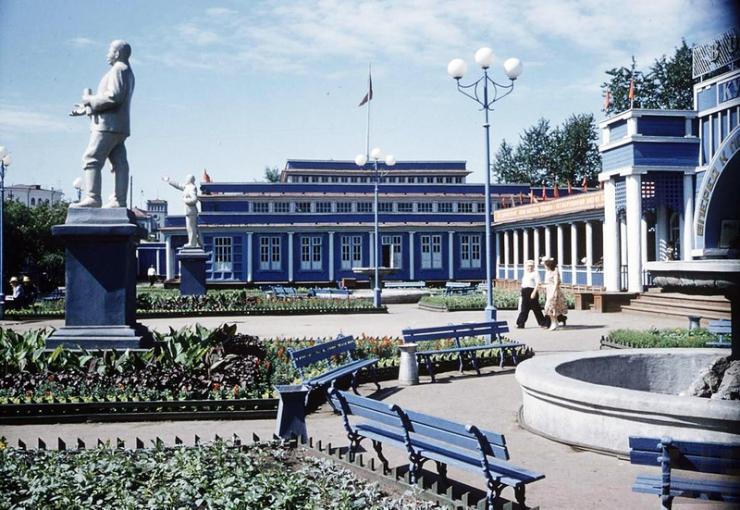 Куйбышевский речной вокзал, 1958 год