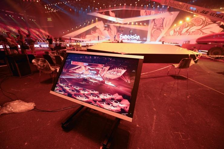 Сцена Евровидения 2012