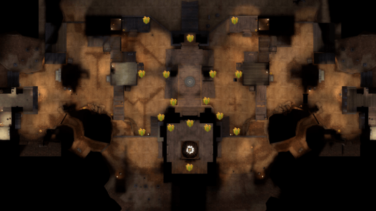 Карта подарков на «Ghost Fort»