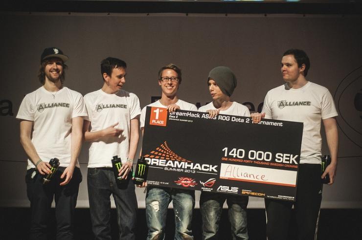 The Alliance — 1 место на DreamHack Summer Dota 2 Cup