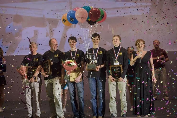 СПбНИУ ИТМО, чемпионы мира по программированию 2013 года