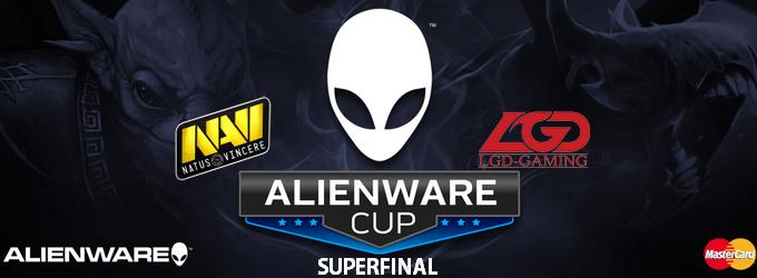 Большой финал Alienware Cup 2013: Natus Vincere vs. LGD.China