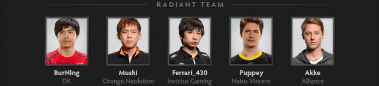 Команда звёзд света