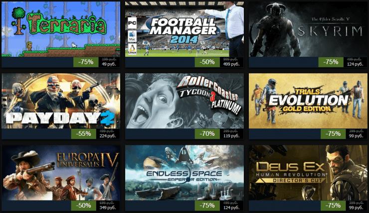 Зимняя распродажа Steam 2013: день седьмой