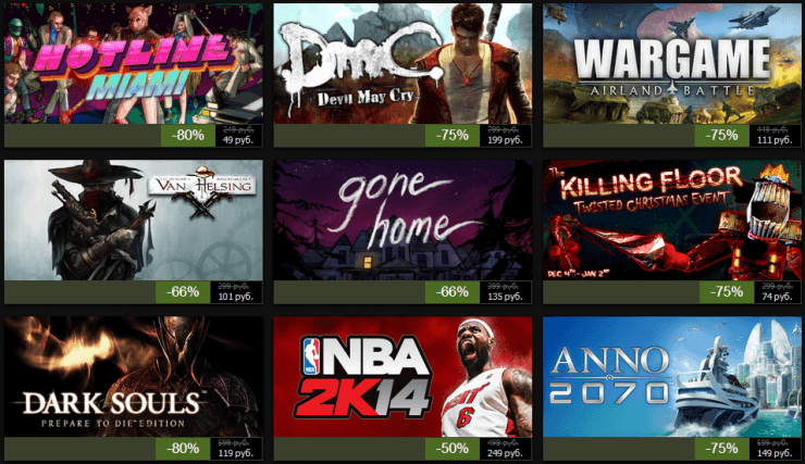 Зимняя распродажа Steam 2013: день восьмой