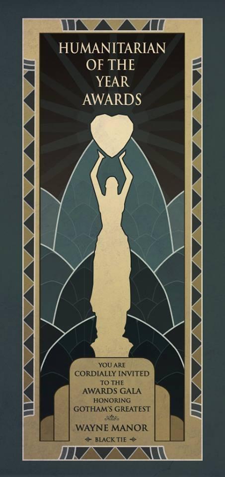 Постер премии «Филантроп года»