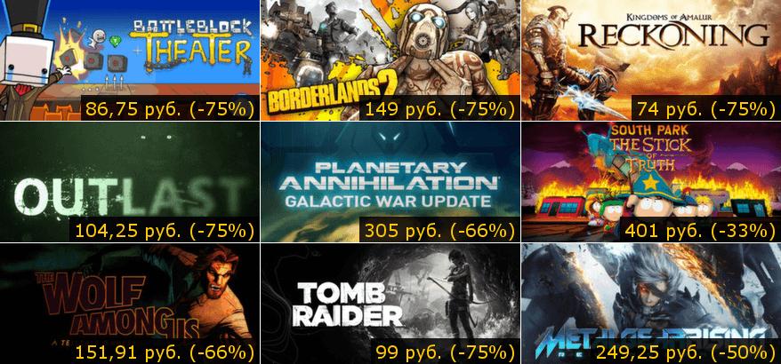 Летняя распродажа Steam 2014: день четвёртый