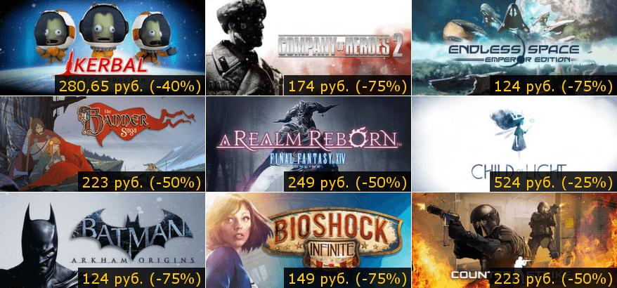Летняя распродажа Steam 2014: день седьмой